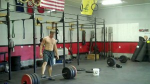 5 minute AMRAP 1- DL @405 275# 2- Muscle-ups 3- Burpee 0 01 56-24